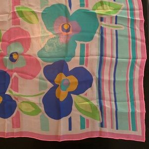 Accessories - Floral, summer scarf
